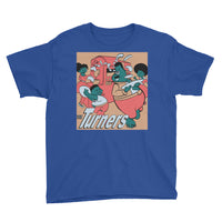 The Turners 7.0 Youth Short Sleeve T-Shirt - Afro Space