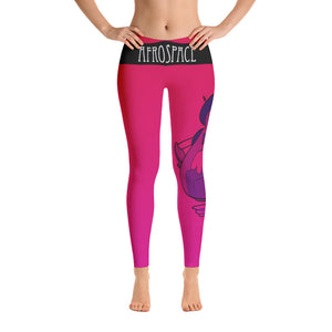 Pink Afro Space Leggings - Afro Space