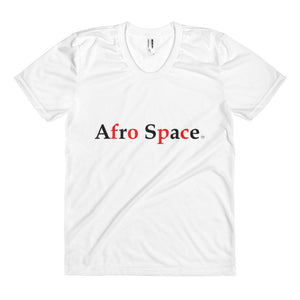 Women'sAfro Space City Line Split  sublimation t-shirt - Afro Space