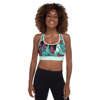 Turners Flying Padded Sports Bra - Afro Space