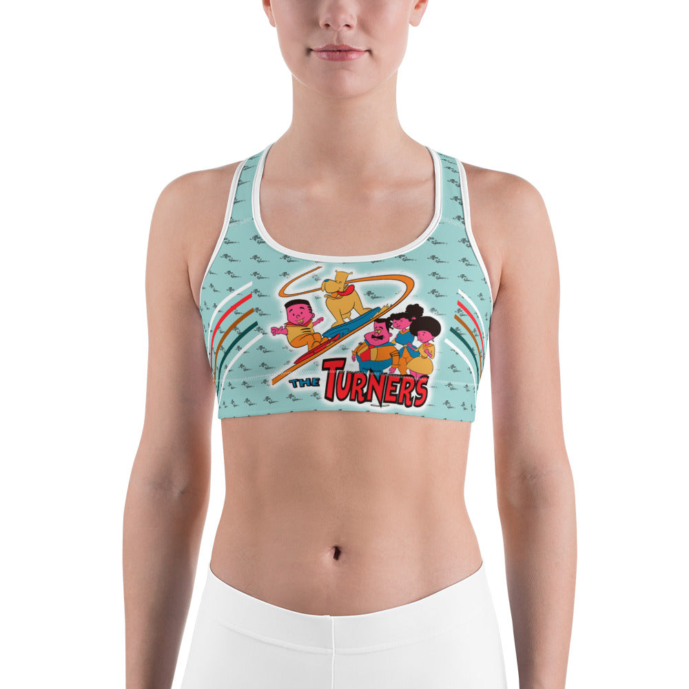 Turners Sports bra - Afro Space
