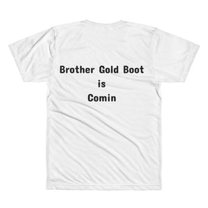 Backed by BGB All-Over Printed T-Shirt
