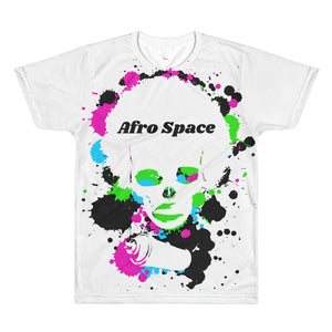 Afro Space Male Tye Dye All-Over Printed T-Shirt - Afro Space