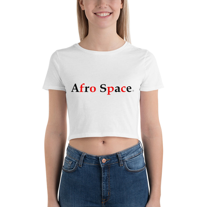 Women's Crop Tee Afro Space - Afro Space