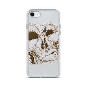 Men Mug iPhone Case - Afro Space