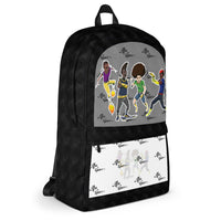 dem Boys double play Backpack - Afro Space