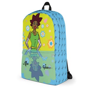 Afro Space Diva Backpack