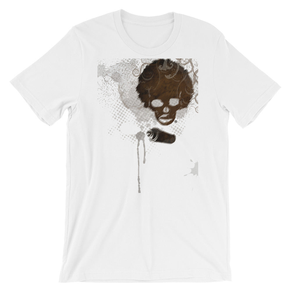 Afro Space Fusion Short-Sleeve Unisex T-Shirt - Afro Space