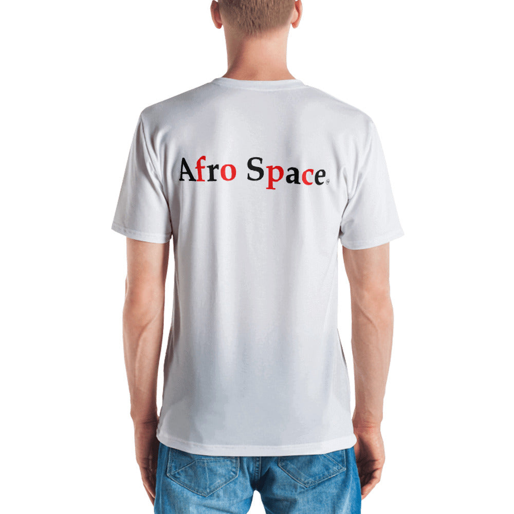 Afro Pic singular back Men's T-shirt - Afro Space