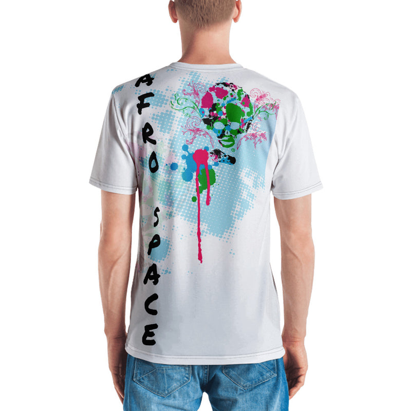 2019 Fall Collection Men's T-shirt TydeSplatter - Afro Space