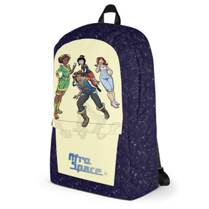 New Afro Space Girls Backpack