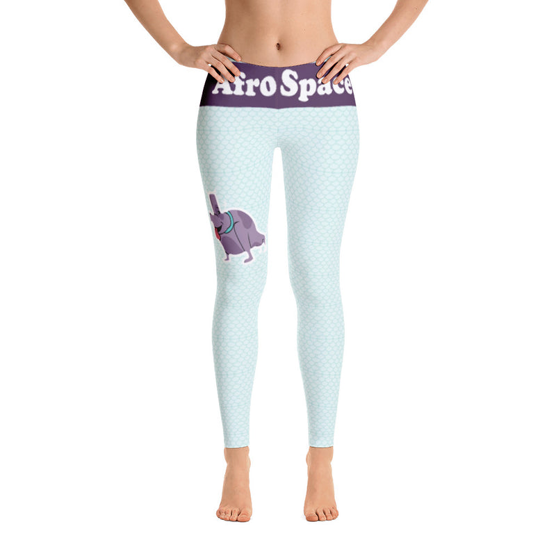 Afro Spaced Themed Leggings - Afro Space