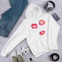 Pink Eyes STL 2019 Fall Collection Hooded Sweatshirt - Afro Space