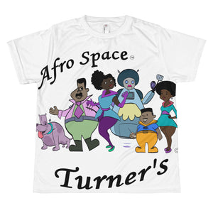 The Turners All-over youth sublimation T-shirt - Afro Space