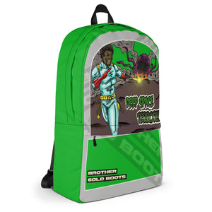 Brother Gold Boot Space Trials Backpack - Afro Space
