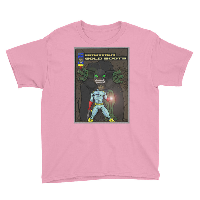 Afro Space BG Youth Short Sleeve T-Shirt - Afro Space