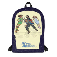 New Afro Space Girls Backpack - Afro Space