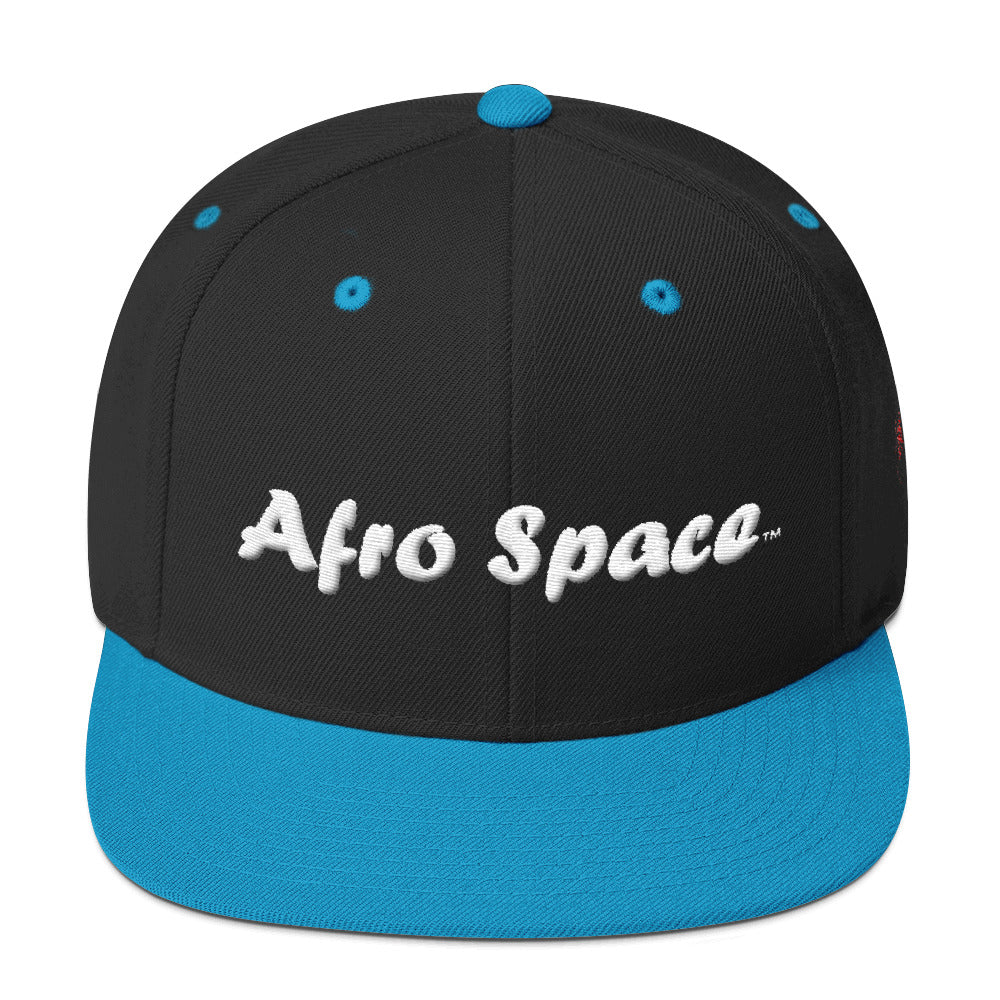 Afro Space Puff Hat Snapback Hat