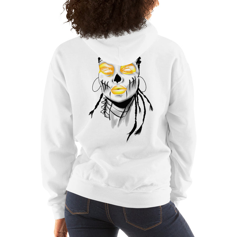 2019 Fall Collection Yellow Sista Girl Hooded Sweatshirt - Afro Space