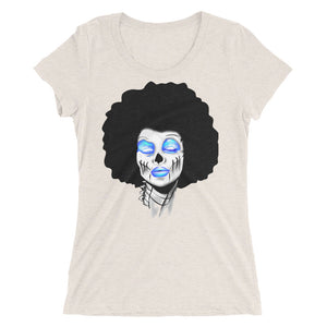 Sista Girl Blue Ladies' short sleeve t-shirt