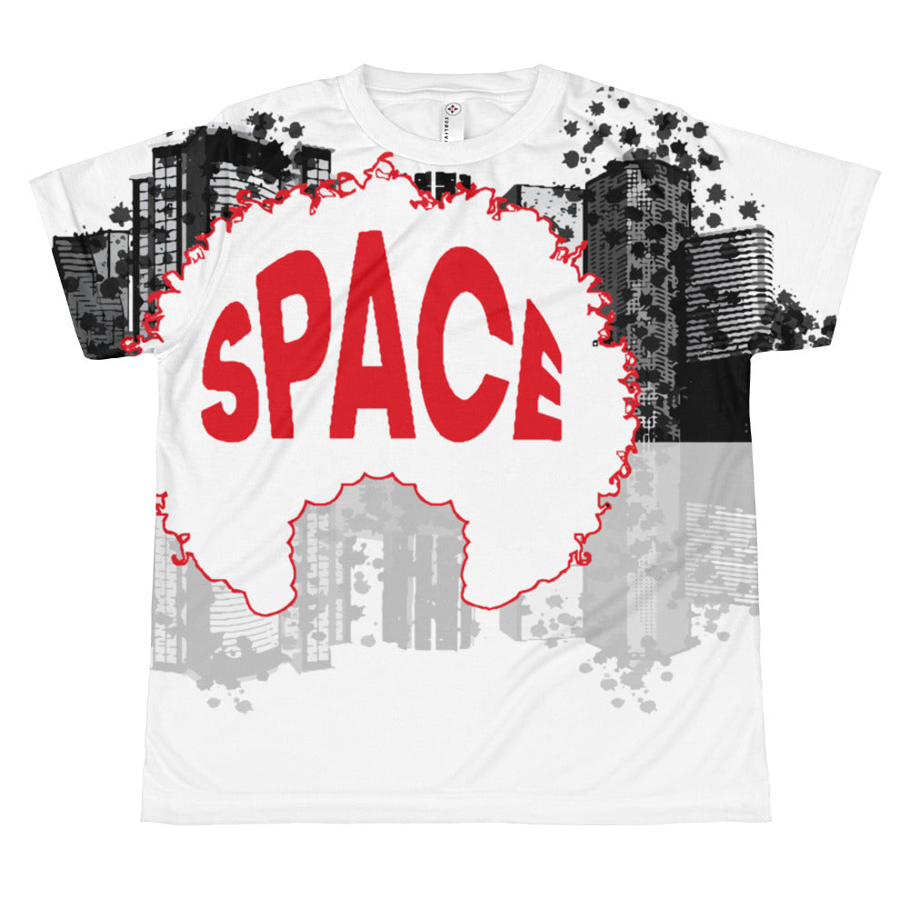 Boys All-over youth sublimation T-shirt - Afro Space