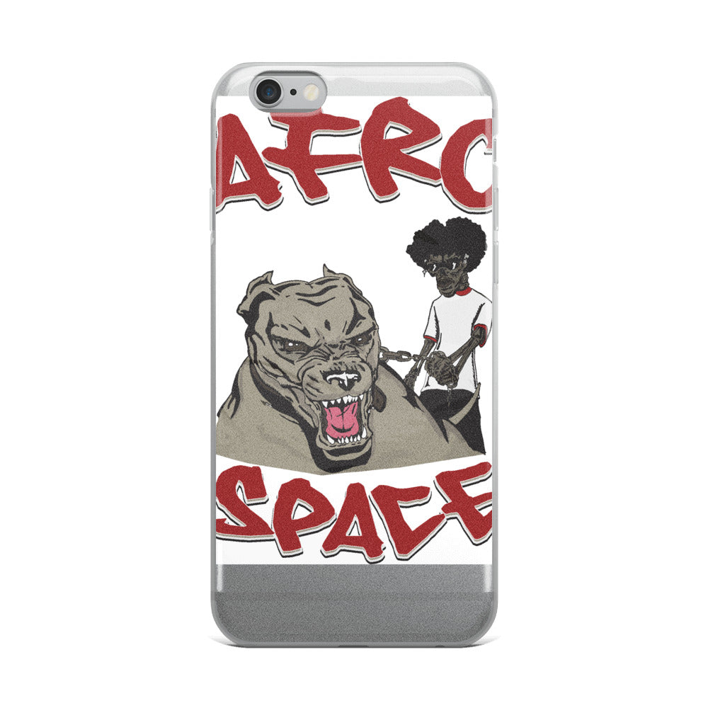 Mans Best Friend iPhone Case - Afro Space