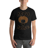 Back 2 School Afro Smile Short-Sleeve Unisex T-Shirt - Afro Space