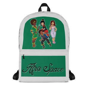 Afro Space  Hanging Out Girls Backpack - Afro Space