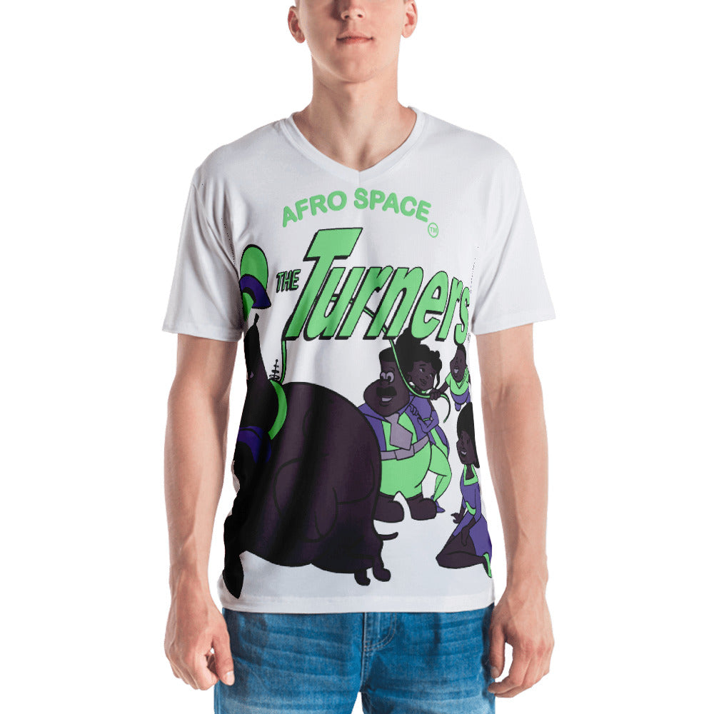 The Turners Men's T-shirt All Over - Afro Space