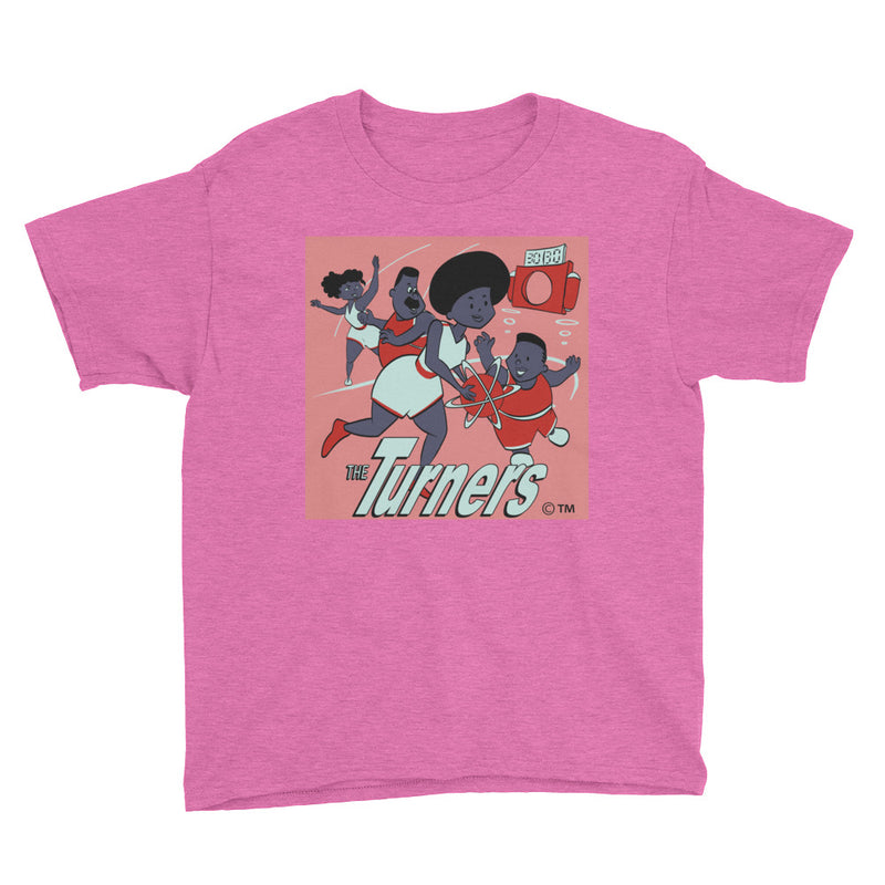 The Turners 5.0 Youth Short Sleeve T-Shirt - Afro Space