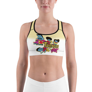 Turners Limited Edition Sports bra - Afro Space