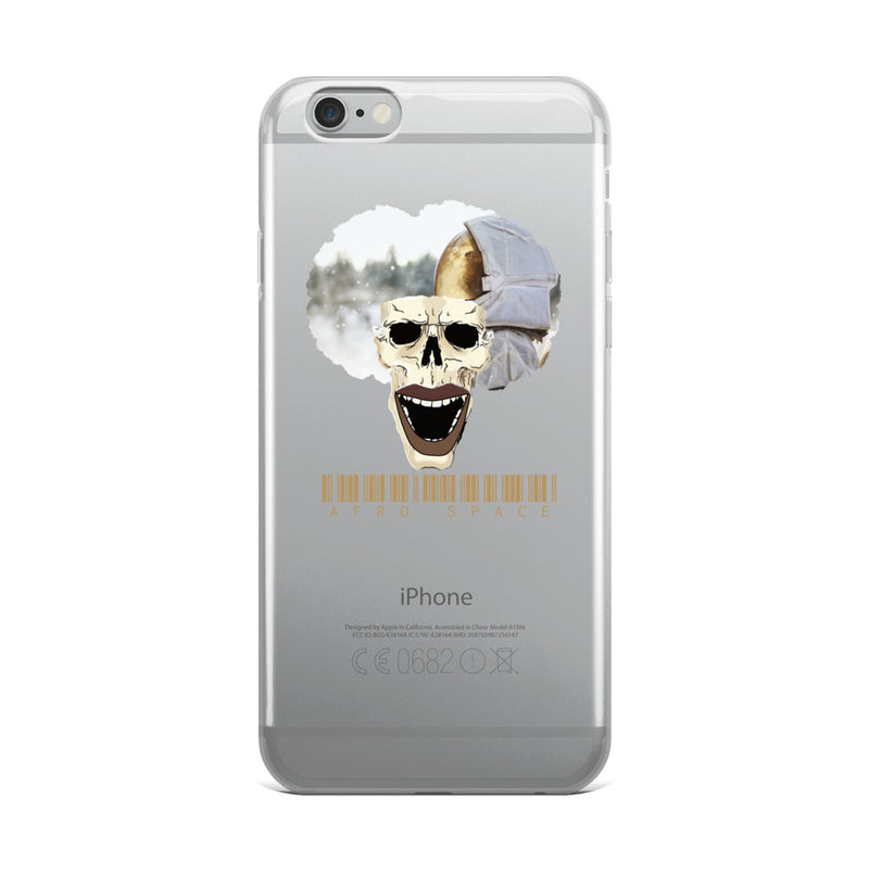 Afro Space Cosmonaut iPhone Case - Afro Space