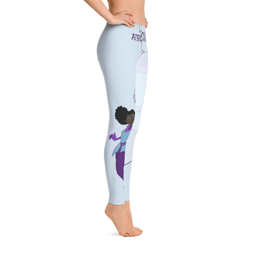 Afro Space Turners Leggings