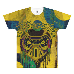 2019 Fall Collection St. Louis Afro Short sleeve men's t-shirt - Afro Space