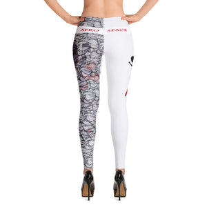 Turner Split Themed Leggings - Afro Space