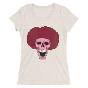 Female PINK Afro Space Ladies' short sleeve t-shirt - Afro Space