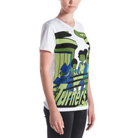 Turners Limited Edition Women's V-neck - Afro Space