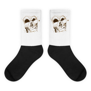 Mean Mug Socks - Afro Space