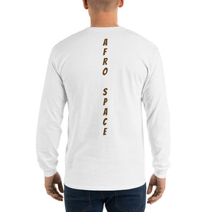 Long Sleeve T-Shirt Mens Afro Space - Afro Space