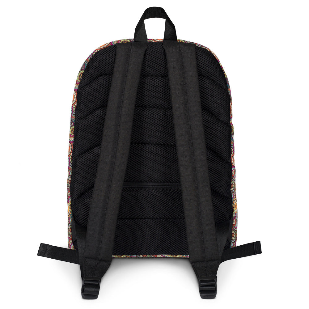 Afro Space Foral Backpack - Afro Space