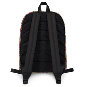 Afro Space Foral Backpack