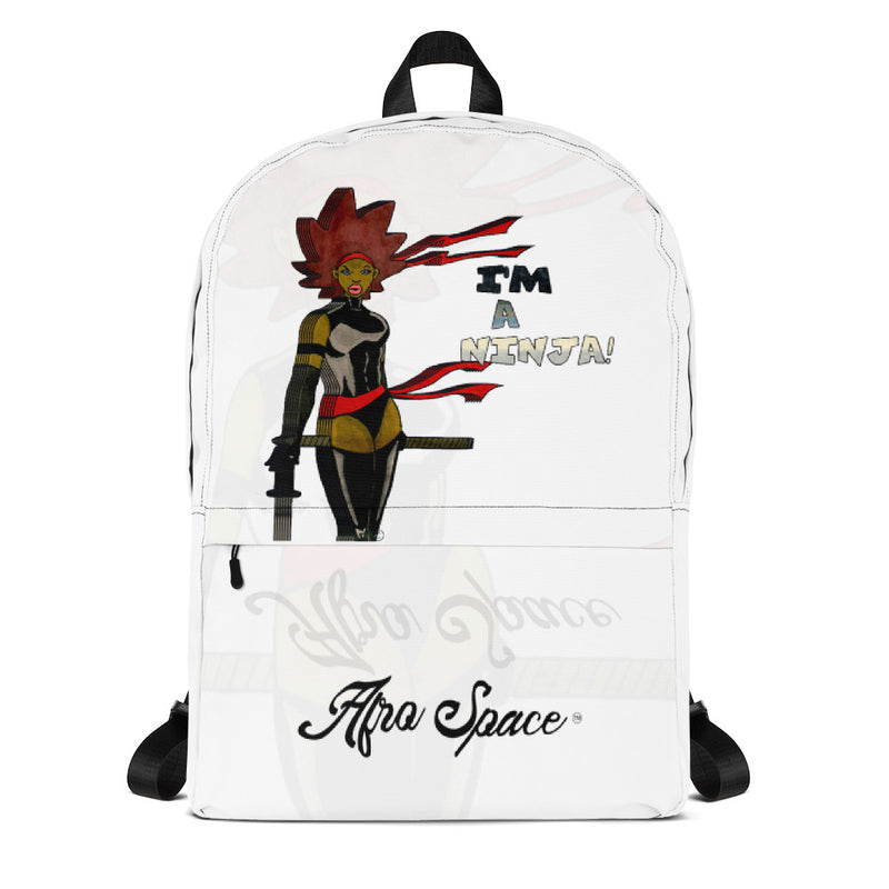 Afro Space I am Ninja Backpack - Afro Space