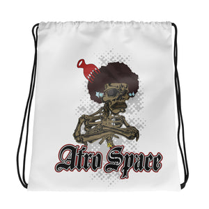 Afro Space Pick in Fro Drawstring bag - Afro Space
