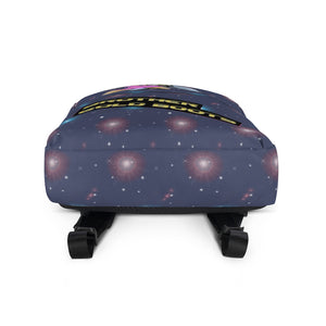 Brother Gold Boot Backpack - Afro Space