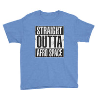 Back 2 School Straight Otta Afro Space Youth Short Sleeve T-Shirt - Afro Space