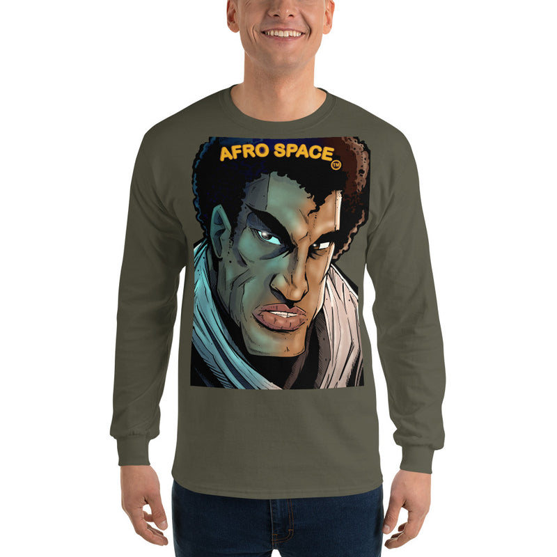 Long Sleeve T-Shirt BG Super Hero 3 - Afro Space