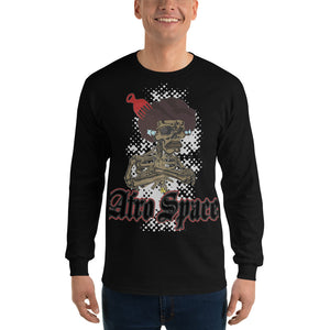 Long Sleeve T-Shirt Bro with Pic - Afro Space