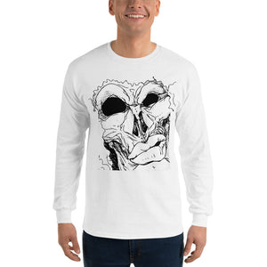 Long Sleeve T-Shirt Mean - Afro Space