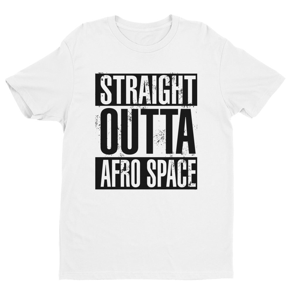 Straight OUTTA Afro Space Short Sleeve T-shirt