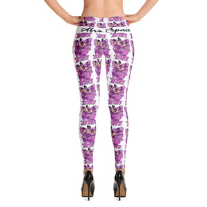 Afro Spcae Pink Leggings - Afro Space